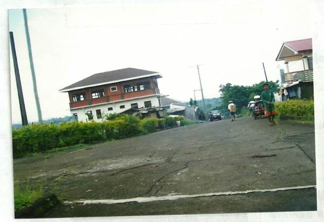 Main road view